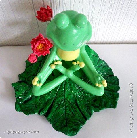 """Здравствуйте.     Дочь в интернете увидела    медитирующую лягушку. Картинка с лягушкой ей очень понравилась. Позвонила мне: """" Мама я хочу такую же лягушку"""" А мама для своих деток – волшебница, которая сделает всё.   фото 3"""