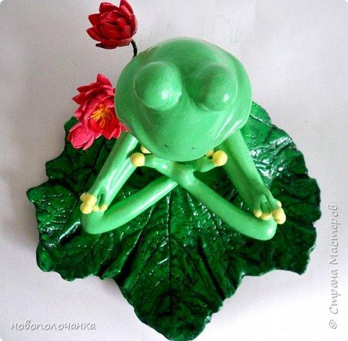 """Здравствуйте.     Дочь в интернете увидела    медитирующую лягушку. Картинка с лягушкой ей очень понравилась. Позвонила мне: """" Мама я хочу такую же лягушку"""" А мама для своих деток – волшебница, которая сделает всё.   фото 58"""