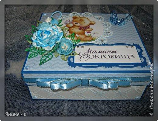 На этот раз покажу мальчуковые коробочки. фото 12