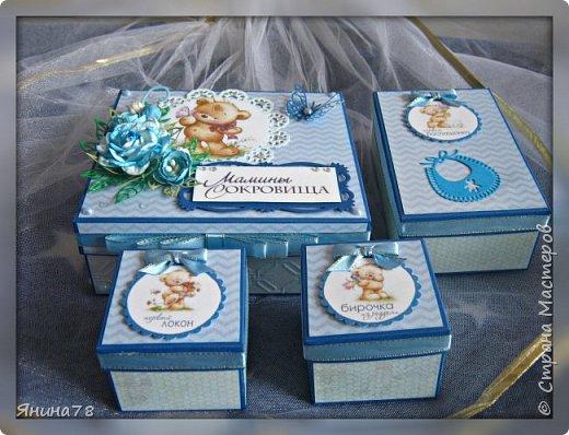 На этот раз покажу мальчуковые коробочки. фото 15