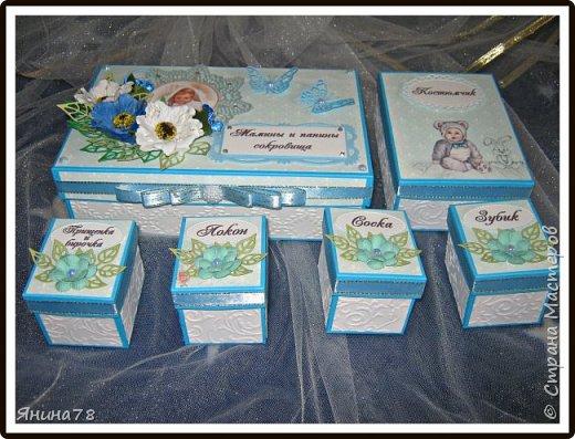 На этот раз покажу мальчуковые коробочки. фото 9