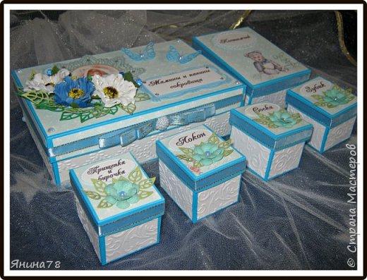На этот раз покажу мальчуковые коробочки. фото 10