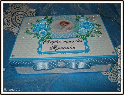 На этот раз покажу мальчуковые коробочки. фото 3