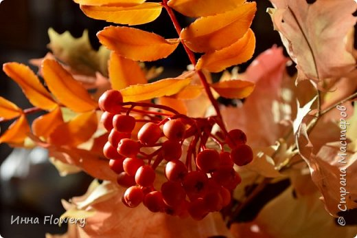 Осенние композиции с рябиной фото 2