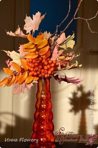 Осенние композиции с рябиной фото 6