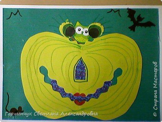 """В канун Дня всех Святых    ребята  4 """"В"""" класса сделали веселые тыковки ..Эти тыквы получились не страшные, а даже очень симпатичные! Всем жителям Страны Мастеров  -наилучшие пожелания!!!  фото 24"""