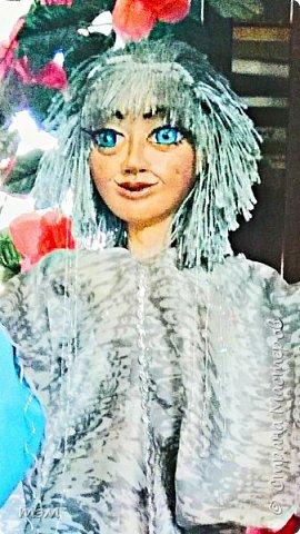 Это Дождик для Снегурочки... Неплохое название для кукольного спектакля! Пожалуй, надо его предложить... фото 1