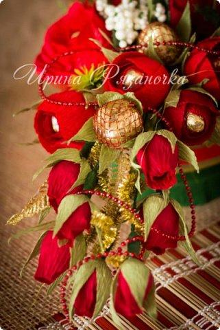 Всем здравствуйте! Вот так вот - впервые пришлось делать что то новогоднее аж в сентябре)))  Рождественская композиция со свечой в классической гамме  фото 17