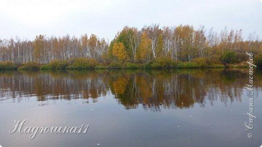 В начале октября выдалась хорошая погодка на выходных, и муж с товарищем поехали на речку Девятка на рыбалку. фото 22