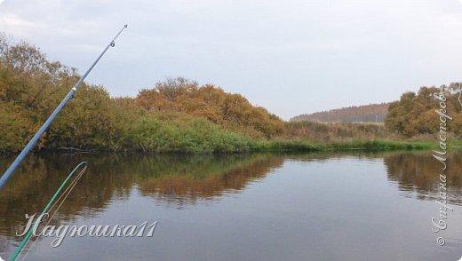 В начале октября выдалась хорошая погодка на выходных, и муж с товарищем поехали на речку Девятка на рыбалку. фото 26