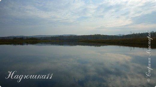 В начале октября выдалась хорошая погодка на выходных, и муж с товарищем поехали на речку Девятка на рыбалку. фото 30