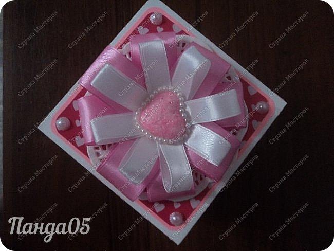 Здравствуйте всем!  Очередной заказ на Magic Box у меня образовался,ко дню рождения девушке 25 лет. Из пожеланий заказчицы был розовый цвет,календарик и туфелька. Итак,очередное дефиле)) фото 3