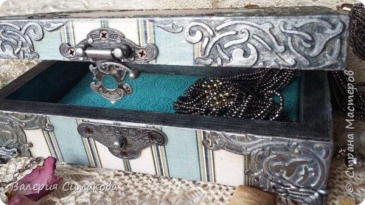 Новая шкатулочка.... много что я с ней сделала)))) ну сами видите))))  фото 4