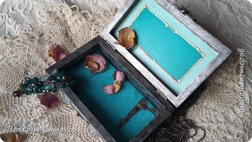 Новая шкатулочка.... много что я с ней сделала)))) ну сами видите))))  фото 7