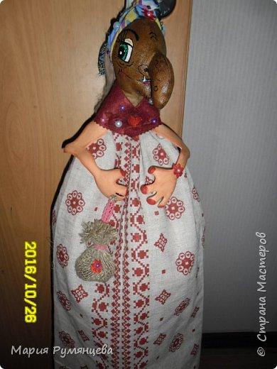 Бабка Ёжка пакетница фото 1