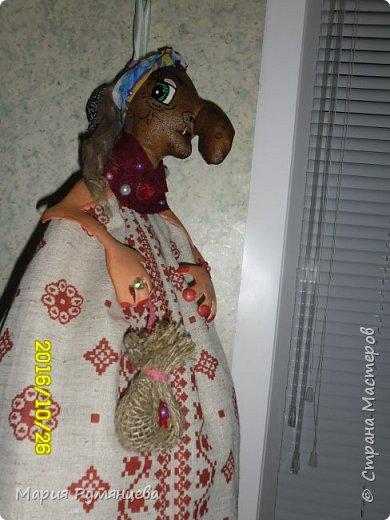 Бабка Ёжка пакетница фото 3