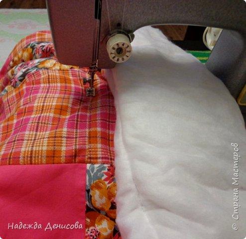 Дорогие Мастерицы! Предлагаю быстрый пошив одеяла в технике пэчворк. фото 30