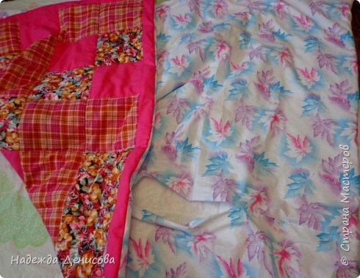 Дорогие Мастерицы! Предлагаю быстрый пошив одеяла в технике пэчворк. фото 39