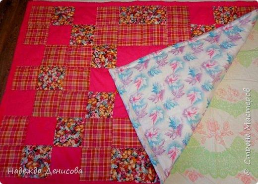 Дорогие Мастерицы! Предлагаю быстрый пошив одеяла в технике пэчворк. фото 43