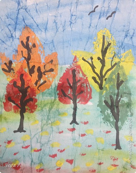А вот и наша осень. фото 3