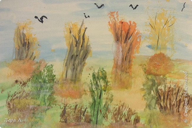 А вот и наша осень. фото 12