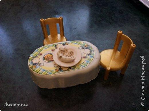 """Еда для кукол из полимерной глины """"Бананы"""" фото 1"""
