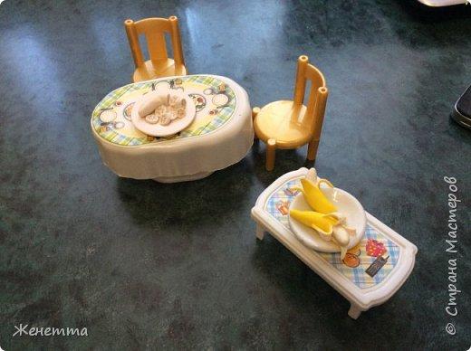 """Еда для кукол из полимерной глины """"Бананы"""" фото 3"""