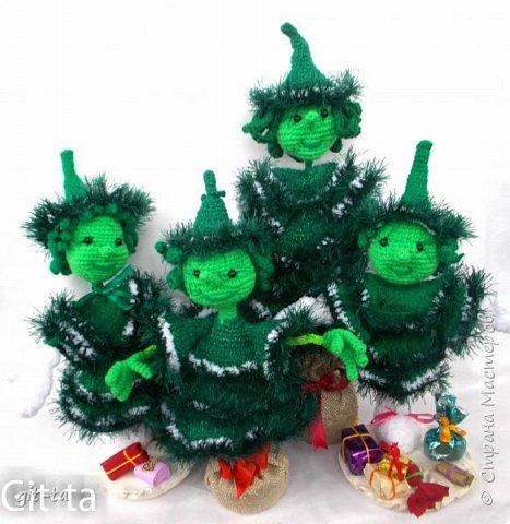 Скоро зима, и Новый Год, и ёлка, и подарки... Готовлю сувениры к ярмарке. Первые, конено, снеговики фото 10