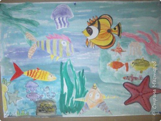 Подводный мир.дети 5-8 лет