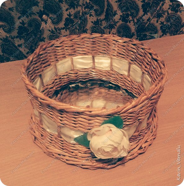 Соорудила для дарения конфет воспитательнице)Надеюсь понравится) фото 4