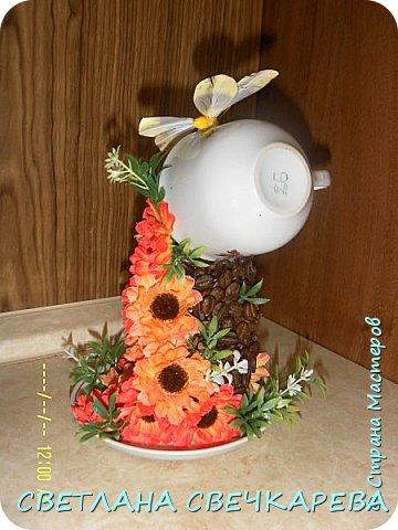 Чашка на блюдце фото 4