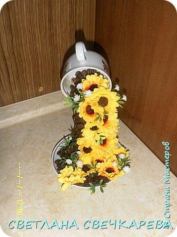 Чашка на блюдце фото 5