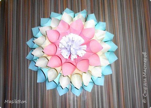 Цветы из бумаги. Большие цветы