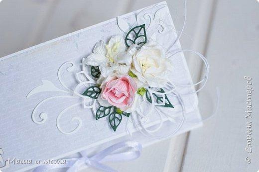 А я еще не всё показала)))) Вот ещё один конверт для денег, в котором можно написать пожелания.  фото 1
