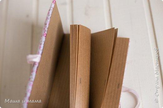И еще одна работа. Это Маша скрапила. Такой уютный блокнот получился)))))))) фото 4