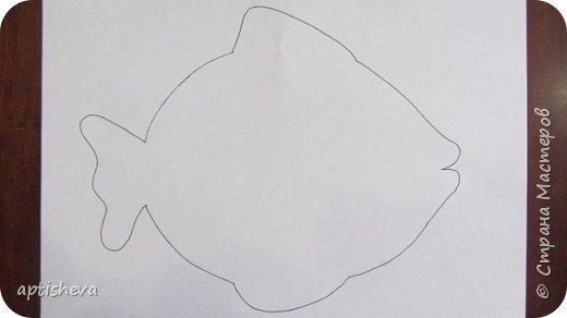 """На занятиях проводила день Чёрного моря, делали с детьми аппликацию """"Рыбка"""". фото 3"""