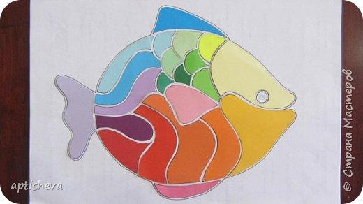 """На занятиях проводила день Чёрного моря, делали с детьми аппликацию """"Рыбка"""". фото 6"""