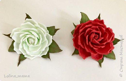 Ободок с розами ''Нежность''. фото 13