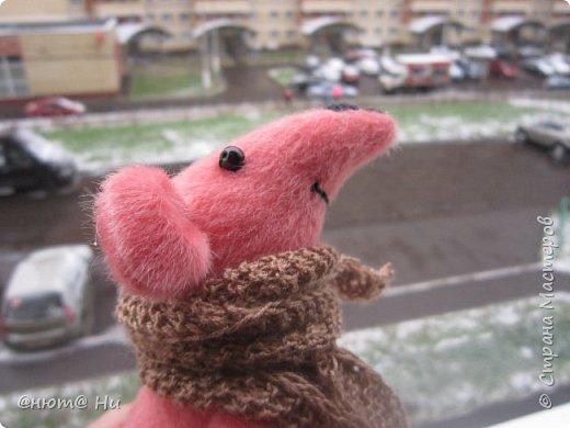 Давно хотела сшить мышку или крыску. И вот родилась Крысинда, позитивная такая тётенька, добрая и хозяйственная. фото 8