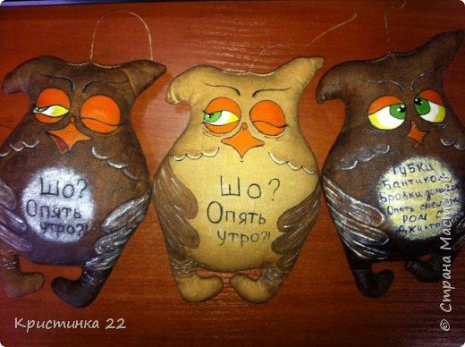 Кофейные совушки =)) фото 3