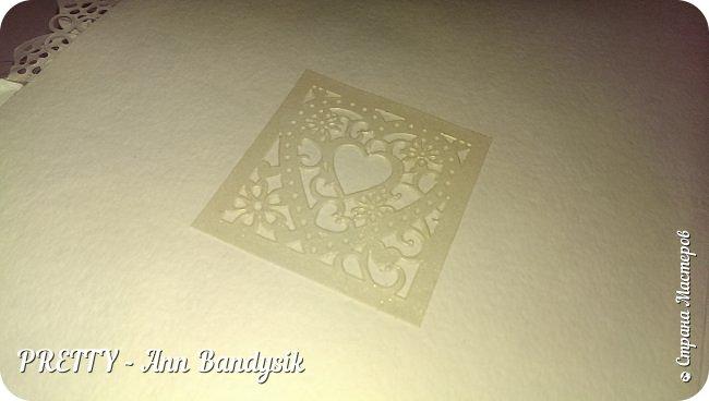 Свадебный комплект. Открытка+конверт для денег. фото 9