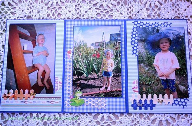 """Итак, собрала в папочку один из летних месяцев, проведенных Владом у нас. Таких моментов было совсем мало, т.к. родители какие-то не совсем нормальные и без ребенка  жить не могут.  В папке в основном фото дачные, так что можно назвать ее и """"Дачные истории"""" Буду показывать и саму папку, и немного рассказывать про фотографии. Фото много, смотреть утомительно, но можно просто прокрутить колесико, особо не вникая. Я понимаю, что такие вещи лучше смотреть видео. Может быть я как-то и приспособлюсь их снимать (надо же приноровиться листать, снимать и рассказывать, а я вовсе не Юлий Цезарь, вот ни капельки) Так что пока так.  На обложку просто специально поместила фото (распечатала на лазерном принтере, говорят, не выгорает), так сказать, анонс содержимого. И сразу видно, что будем смотреть.  фото 10"""