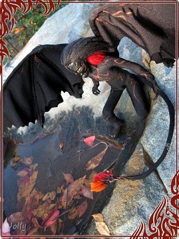 Зовут Нэйрэ Соръер, по роду - ахэрэ или балрог. Создание и товарищ Мелькора. фото 10