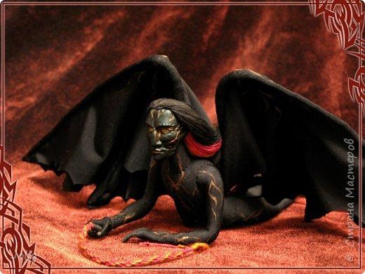 Зовут Нэйрэ Соръер, по роду - ахэрэ или балрог. Создание и товарищ Мелькора. фото 8