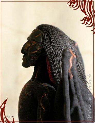 Зовут Нэйрэ Соръер, по роду - ахэрэ или балрог. Создание и товарищ Мелькора. фото 9