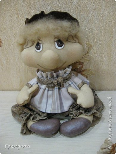 Вот такой молодой домовичек и совушка родились благодаря МК А.Голеневой. фото 2