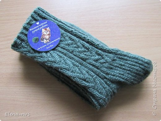 Мужские носки с аранами фото 8