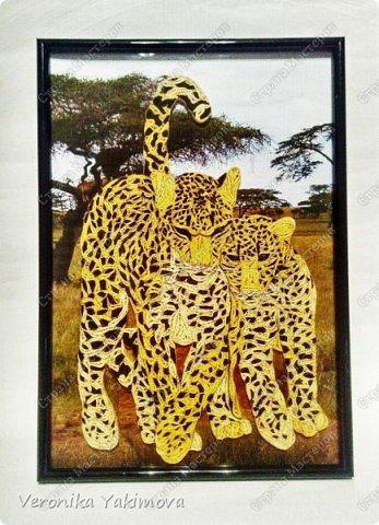 Вот такие милые леопарды у меня получились. фото 1