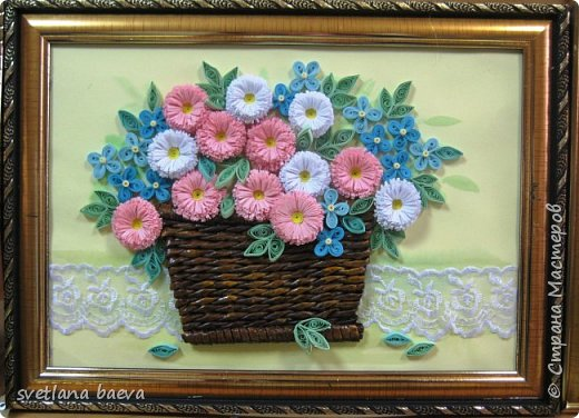 Корзинки с цветами фото 2