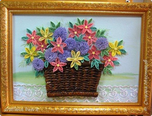 Корзинки с цветами фото 4